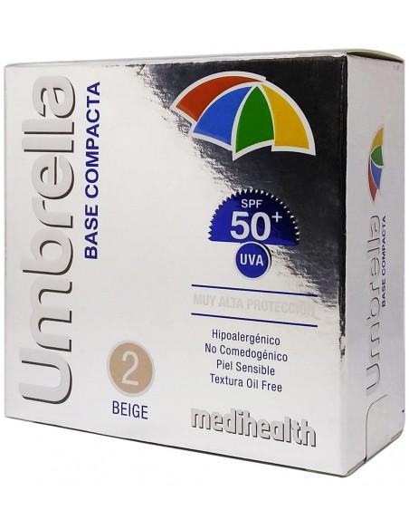 Umbrella Base Compacta SPF 50+ Tono 2: Beige x 11g