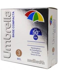 Umbrella Base Compacta SPF 50+ Tono 3: Miel x 11g