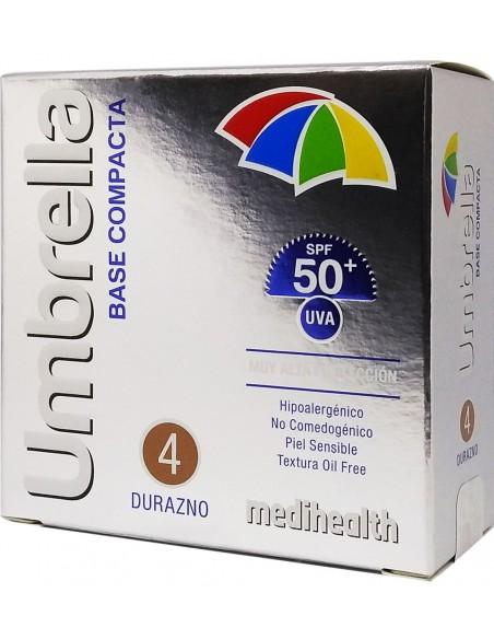 Umbrella Base Compacta SPF 50+ Tono 4: Durazno x 11g