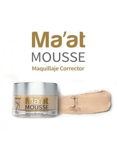 Ma'at Mousse Maquillaje Corrector SPF 50 Tono 1 x 25g ****