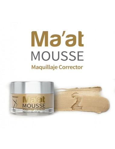 Ma'at Mousse Maquillaje Corrector SPF 50 Tono 2 x 25g ****