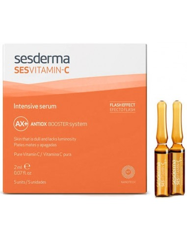 Sesvitamin-C Intensive Serum Ampollas 2mL x 5u en Piel Farmacéutica
