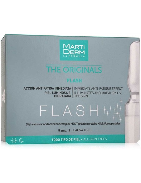 MartiDerm The Originals Flash Ampollas 2mL x 5u