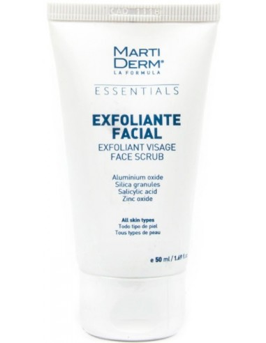 MartiDerm Essentials Exfoliante Facial x 50mL en Piel Farmacéutica