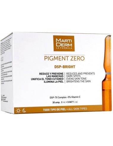 MartiDerm Pigment Zero DSP-Bright Ampollas 2mL x 30u en Piel Farmacéutica