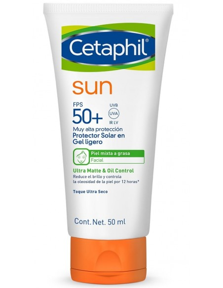 Cetaphil Sun Gel Ligero SPF 50+ x 50mL