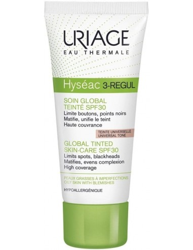 Uriage Hyséac 3-Regul Color SPF 30 x 40mL ****