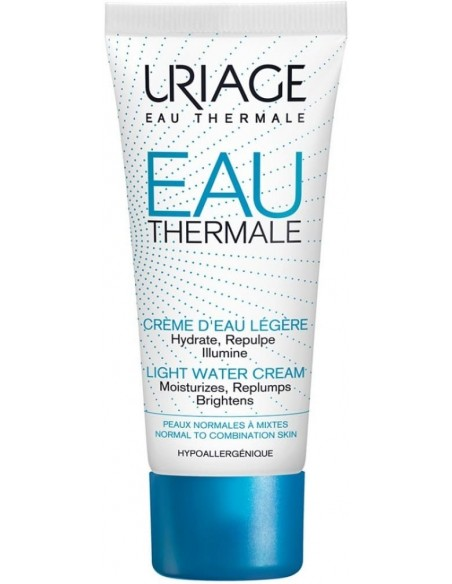 Uriage Agua Termal Crema Ligera x 40mL