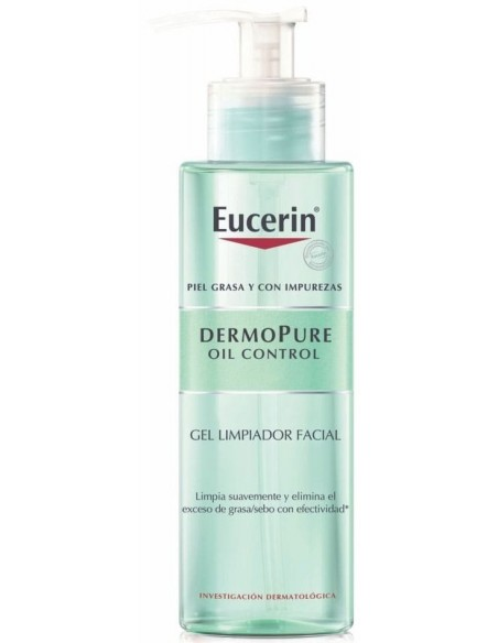 DermoPure Oil Control Gel Limpiador Facial x 200mL