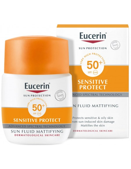 Eucerin Sensitive Protect Sun Fluid SPF 50+ x 50mL
