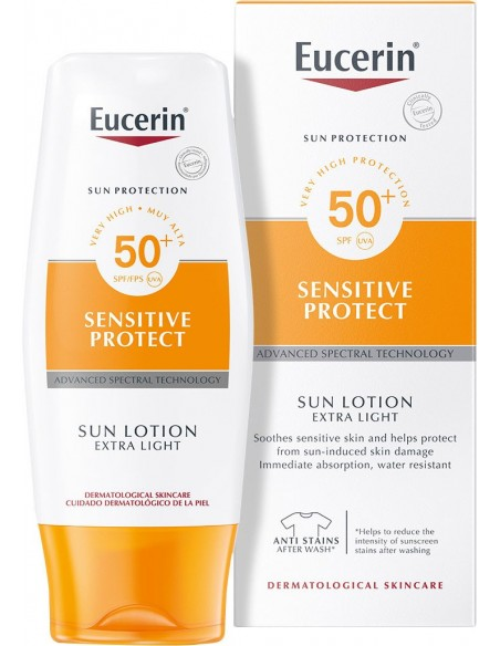 Eucerin Sensitive Protect Sun Lotion SPF 50+ x 150mL