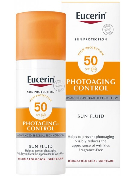 Eucerin Photoaging Control Sun Fluid SPF 50 x 50mL