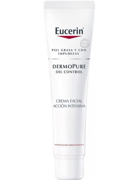 DermoPure Oil Control Crema Facial Acción Intensiva Noche x 40mL