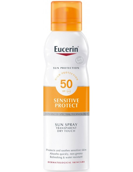 Eucerin Sensitive Protect Sun Spray SPF 50 x 200mL