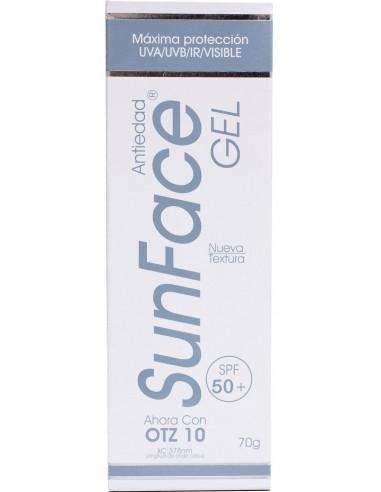 SunFace Gel Antiedad SPF 50+ x 70g en Piel Farmacéutica
