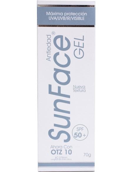 SunFace Gel Antiedad SPF 50+ x 70g