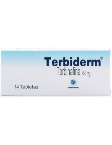 Terbiderm Tabletas x 10u en Piel Farmacéutica