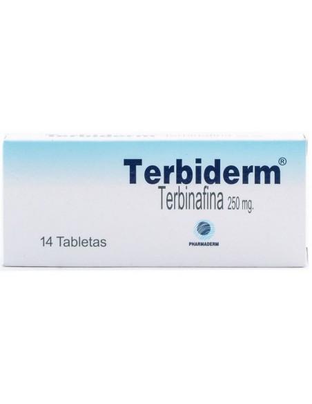 Terbiderm Tabletas x 10u