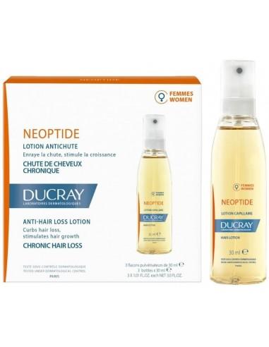 Neoptide Mujer Loción Anticaída 3 Frascos x 30mL en Piel Farmacéutica