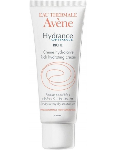 Avène Hydrance Optimale UV Enriquecida SPF 20 x 40mL