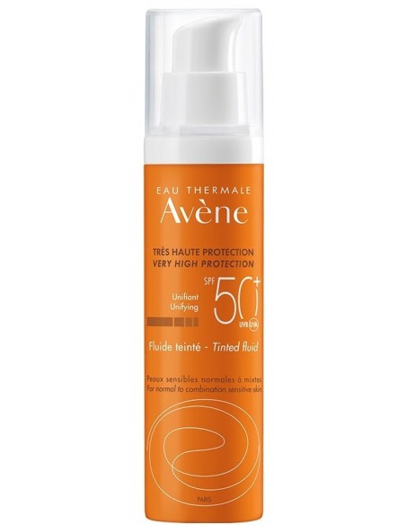 Avène Solar Fluido SPF 50+ Color x 50mL