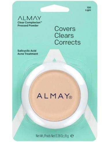 Almay Polvo Compacto Clear Complexion Light x 8g en Piel Farmacéutica