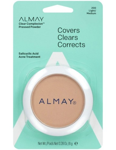 Almay Polvo Compacto Clear Complexion Light/Medium x 8g ****