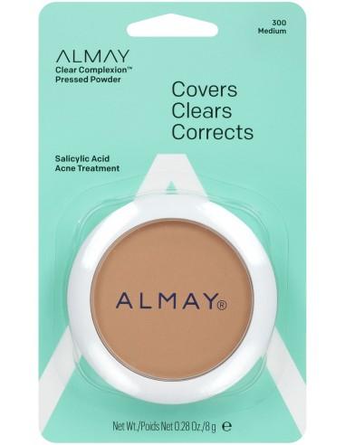 Almay Polvo Compacto Clear Complexion Medium x 8g en Piel Farmacéutica