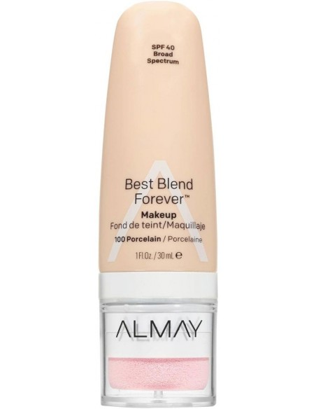 Almay Base Líquida Best Blend Forever Porcelain x 30mL