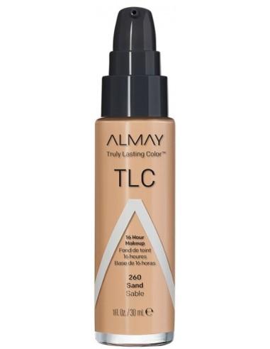 Almay Base Líquida Truly Lasting Color Sand x 30mL en Piel Farmacéutica