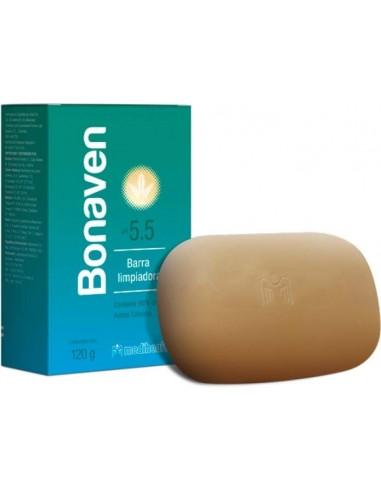 Bonaven Barra Limpiadora x 120g en Piel Farmacéutica