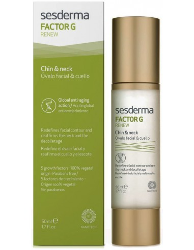 Factor G Renew Ovalo Facial & Cuello x 50mL en Piel Farmacéutica