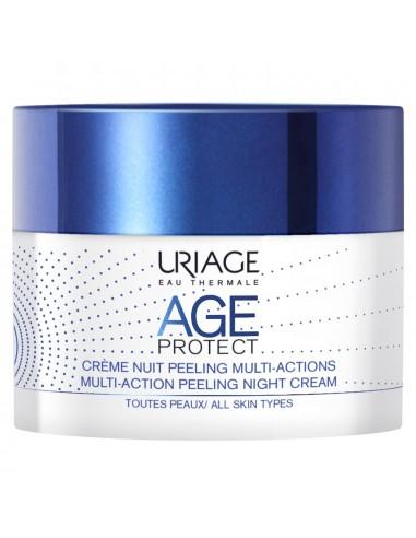 Uriage Age Protect Crema Noche Peeling Multiacción x 50mL en Piel Farmacéutica