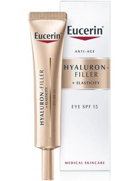 Hyaluron-Filler + Elasticity Crema Contorno de Ojos SPF 15 x 15mL