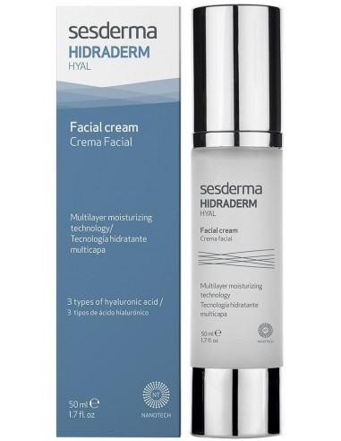 Hidraderm Hyal Crema Facial x 50mL en Piel Farmacéutica