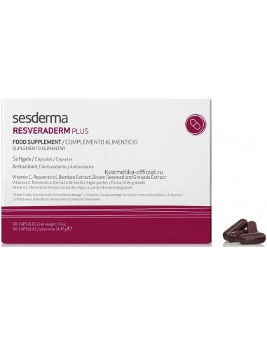 Resveraderm Plus Cápsulas x 60u en Piel Farmacéutica