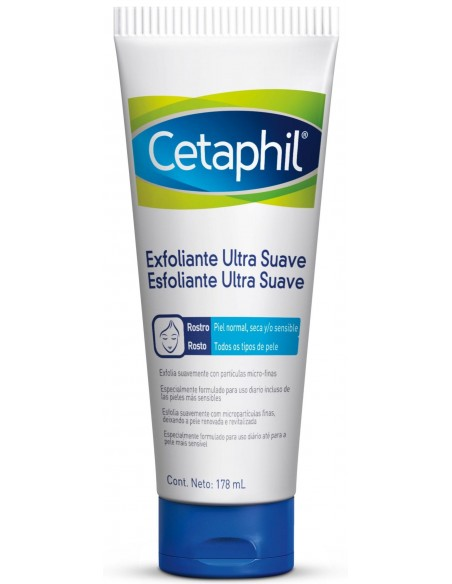 Cetaphil Exfoliante Facial Ultra Suave x 178mL