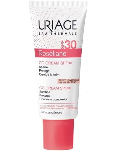 Uriage Roséliane CC Cream Antirojeces SPF 30 x 40mL en Piel Farmacéutica