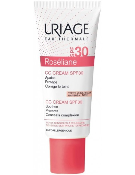 Uriage Roséliane CC Cream Antirojeces SPF 30 x 40mL