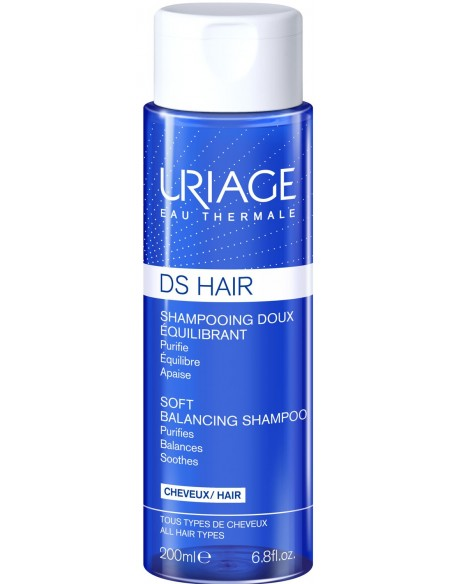 Uriage D.S. Hair Shampooing Doux Equilibrant x 200mL