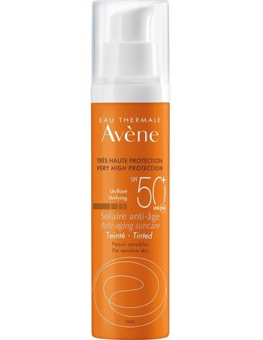 Avène Solar Anti-Edad Color SPF 50+ x 50mL ****