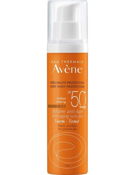 Avène Solar Anti-Edad Color SPF 50+ x 50mL