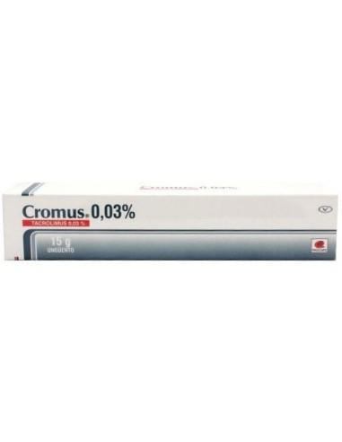 Cromus 0.03% x 15g en Piel Farmacéutica