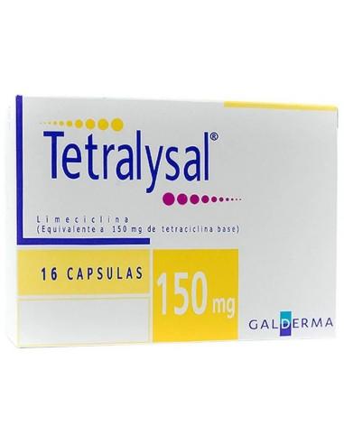 Tetralysal Cápsulas 150mg x 16u en Piel Farmacéutica
