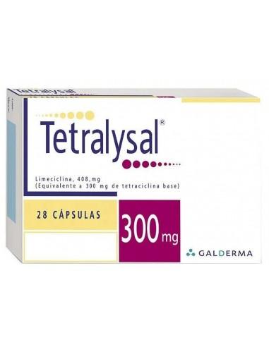 Tetralysal Cápsulas 300mg x 28u en Piel Farmacéutica