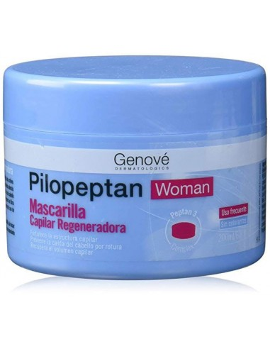 Pilopeptan Woman Mascarilla Capilar x 200mL en Piel Farmacéutica