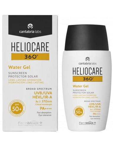 Heliocare 360 Water Gel SPF 50+ x 50mL en Piel Farmacéutica