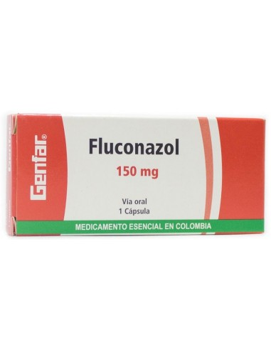 Fluconazol Cápsula 150mg x 1u en Piel Farmacéutica