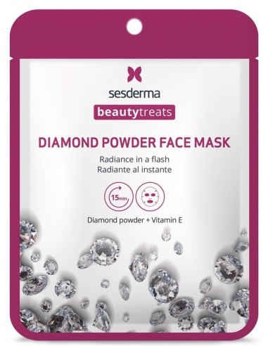 Mascarilla Beauty Treats Diamond Powder Mask x 22mL en Piel Farmacéutica