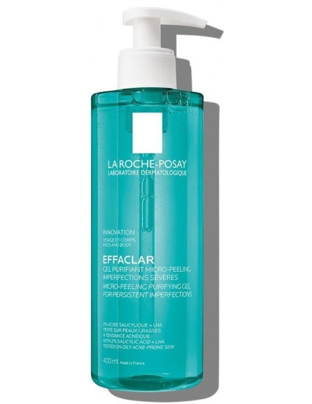 Effaclar Gel Purificante Micro-Exfoliante x 400mL